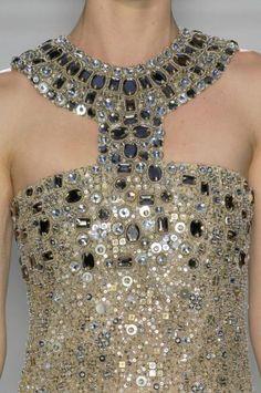 Detalle de un vestido de una noble en Qarth