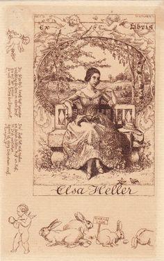 Bookplate Elsa Keller