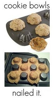 A new way to make cookies.