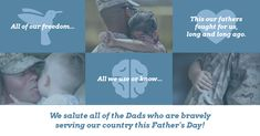 Military Father's Day Facebook Post Template -- #FacebookMarketingTips #DesignFacebookTemplates #FacebookPostTemplates #FreeFacebookTemplates #EditableFacebookTemplates #SocialMediaTemplates #SocialMediaMarketing -- Supercharge your Facebook engagement with unique, eye-catching Facebook templates. Create highly engaging Facebook and social media graphics with Venngage!