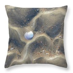 Throw Pillow featuring the photograph Sand  by Silvia Bruno