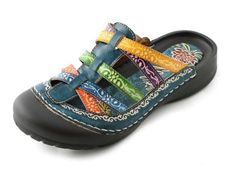 Corky's Elite - Women's Rock Sandals Blue Multi (10) * Find out more about the great product at the image link.