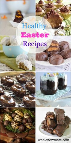 Healthy Easter Recipes- These Healthy Desserts are Gluten Free, Sugar Free and mainly low carb!