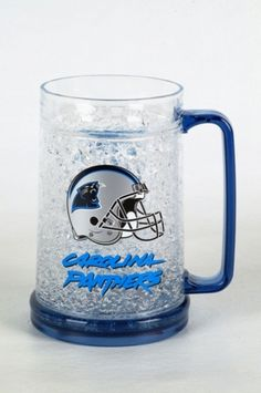 16Oz Crystal Freezer Mug NFL - Carolina Panthers