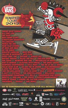 2012 Van's Warped Tour kickoff event.   http://shoes.tv/vans-warped-tour-kick-off-party-90999