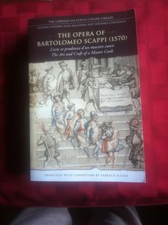 Scappi's Opera (1570, Spain) did not inclde New World ingredients.
