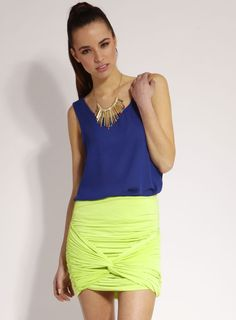 love the colour of the skirt