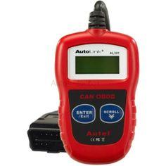 Autel AutoLink AL301 OBDII/CAN Code Reader http://www.autointhebox.com/autel-autolink_c22 #OBD2