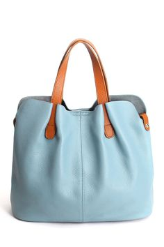 Stitching Textured Leather Tote Bag  Click on picture to purchase!