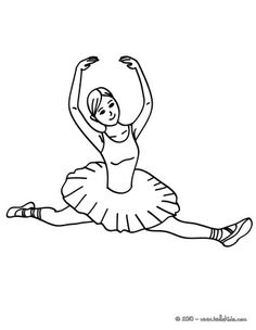 39 Best Coloring Pages for Itty Bitty Dancers images in