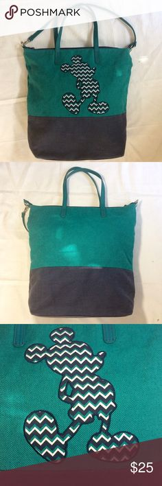 Mickey Mouse Tote Bag Authentic original Mickey tote bag with no stains inside or out. Signs of wear are visible but in great condition Disney Bags Totes