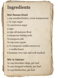 Best Banana Bread Recipe  350 degrees for sixty minutes