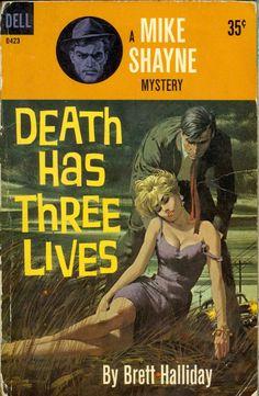 1904-1977 Brett_Halliday - Death has 3 lives