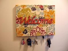 Jewelry/Key Holder DIY Project How To