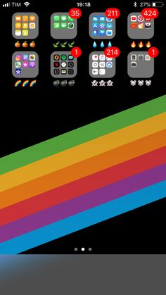 Iphone home screen layout, iphone layout, iphone home page, app design, tum