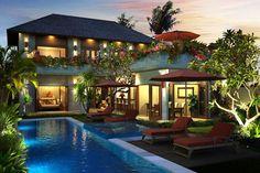 """Villa dua kamar yang elegan, Villa Manja mengambil bahasa Indonesia dengan maksud """"cinta"""""""