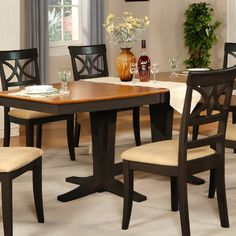 Wooden Importers Ellington Dining Table