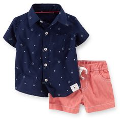 4th Of July 2-Piece Short Set | Carters.com