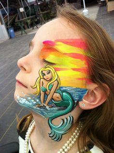 52 best mermaid inspirations images  face design mermaid