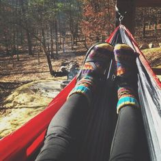 pretty much sums up this past weekend. Chacos, fuzzy socks, and hammocks pretty much sums up this past weekend. Chacos, fuzzy socks, and hammocks Patchwork Jeans, Weekender, Gossip Girl Serie, Granola Girl, Camping Aesthetic, Socks And Sandals, Camping Outfits, Camping Clothing, Adventure Is Out There