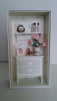 Mini scene - girl bedroom