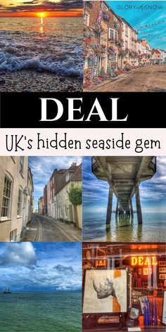 Join me on a journey to the magical seaside town of Deal with its colorful narrow streets, beautiful beach, the pier, quirky architecture, and two castles!| UK travel | UK seaside town | Europe's secret locations | hidden gems | UK holiday | most picturesque towns in England | seaside retreat | places to visit in the UK | best seaside towns | the best beach UK | seaside breaks |  best beach near London | things to do in Kent | day trips from London | #europetravel #ukbeach #seaside