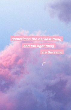 """Manchmal ist dasjenige Schwierige und dasjenige Richtige dasjenige Gleiche"" -… ""Sometimes that is difficult and that right the same"" – Wallpaper Lockscreen Mood Quotes, True Quotes, Positive Quotes, Quotes Motivation, Wall Quotes, Quotes Quotes, Qoutes, Frases Tumblr, Tumblr Quotes"