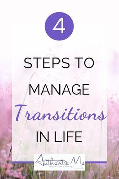 Transitions can be difficult. Here are some very useful tips for handling any change in your life. Self Development, Personal Development, Sources Of Stress, Quarter Life Crisis, Life Transitions, Finding Happiness, Life Purpose, Positive Mindset, Life Advice