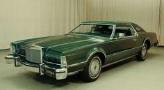 1976 Lincoln Continental Mark VI Jade Luxury Edition