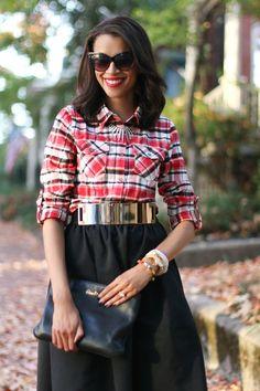 Plaid Shirt | How to style plaid
