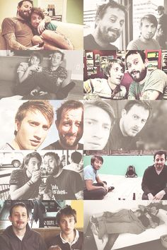 Gavin Free and Geoff Ramsey - Rooster Teeth - Achievement Hunter