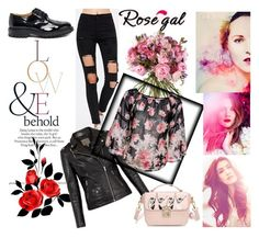 """Rosegal contest"" by adancetovic ❤ liked on Polyvore featuring ASOS and MuuBaa"