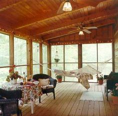 Screened In Porches Ideas   Back Patio Ideas Pictures