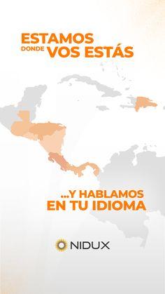 Somos la única plataforma eCommerce Omnicanal, con presencia en toda la región y 100% en español. Conocemos tu negocio porque estamos cerca.    👉Visitanos en www.NIDUX.com para conocer más. 🌎     #eCommerce #VendeEnLinea #CentroamericayElCaribe #ComercioElectronico #MarketingDigital #Asesoría #Business #OnlineShopping #TiendaVirtual Marketing Digital, Costa Rica, Ecommerce, Movie Posters, Movies, Wedge, Languages, Getting To Know, Business