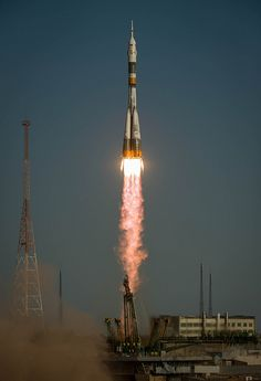 Soyuz Launches New Crew to Space Station