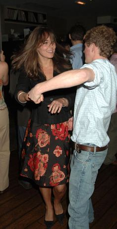 Kate years ago....and the lucky guy then