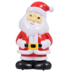 Christmas House Motion-Sensing Plastic Singing Santas, 5.75 in.