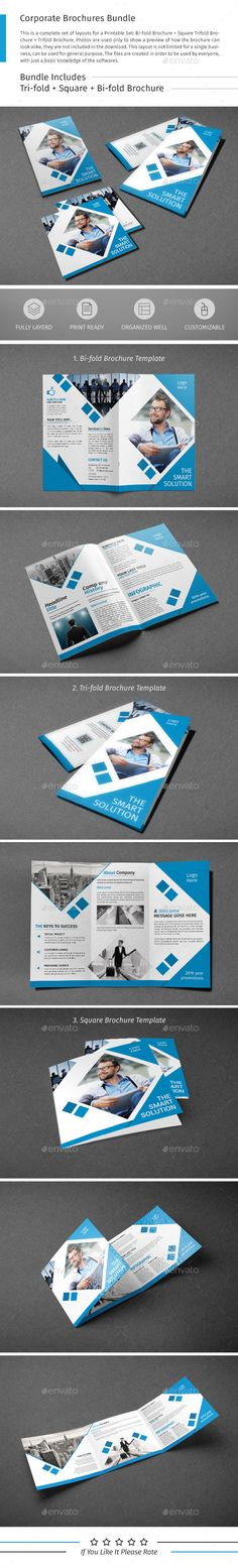 Brochure Template PSD Bundle. Download here: http://graphicriver.net/item/brochure-bundle-01/15813976?ref=ksioks