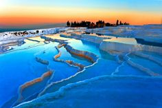 Pamukkale Tours From Kusadasi, beautifully constructed, balancing history and culture with geology and natural history but time to relax, reflect and. Beautiful Places In The World, Beautiful Places To Visit, Places Around The World, Cool Places To Visit, Around The Worlds, Wonderful Places, Pamukkale, Istanbul, Thermal Pool