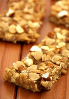 9 Healthy Homemade Protein Bar Recipes http://papasteves.com