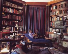 """The library was the only place around where I willingly obeyed the rules."" See? Even Keith Richards behaves like a gentleman in this lush, layered study."