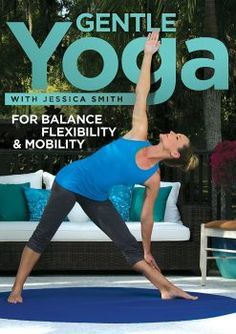 Jessica Smith Gentle Yoga for Balance Flexibility and Mobility Relaxation Stretching for All Levels * Be sure to check out this awesome product. Yoga Videos, Workout Videos, Workouts, Exercise Videos, Yoga Stress, Yoga Sequences, Yoga Poses, Best Yoga Dvd, Yoga For Seniors