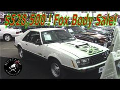 $528,500 FOX BODY Mustang Sale Dennis Collins does it again at Barrett-J...