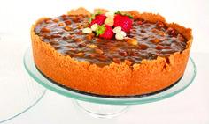 Salted caramel macadamia cheesecake