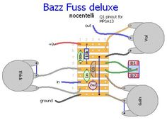 Fig 1: Bazz Fuss Deluxe layout used in the previous project