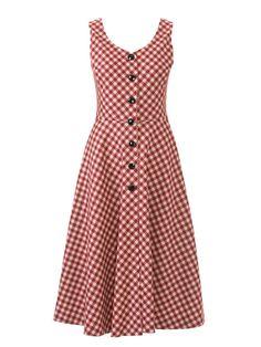 Button Down Retro Dress 09/2014 #123 – Sewing Patterns | BurdaStyle.com