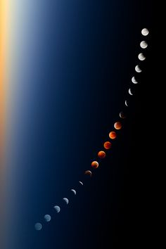 Lunar eclipse....outer space, moon, universe