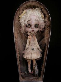 Julien Martinez Custom Blythe doll style « Elixir » OOAK    intermundisleblogdejulienmartinez.blogspot.co