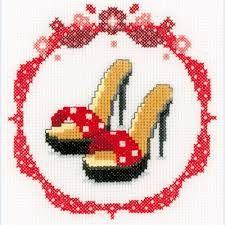 shoes cross stitch - Pesquisa do Google