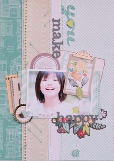 You Make Me Happy - by Michiko Kato using the Dear Lizzy 5th & Frolic collection from American Crafts.